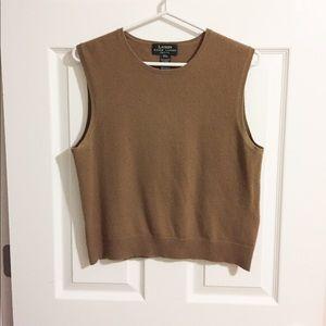 Ralph Lauren 100% cashmere vest